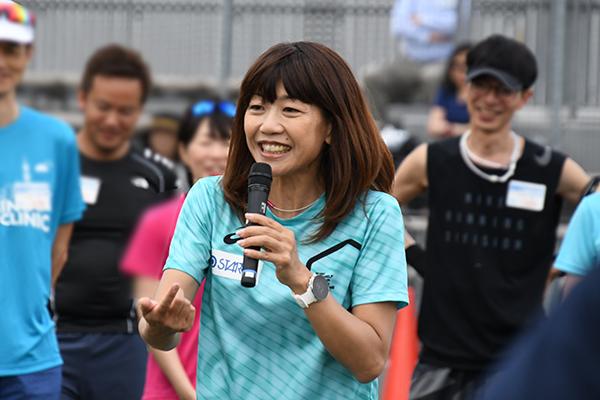 高橋尚子ランニングクリニック2019 参加レポートVol.25