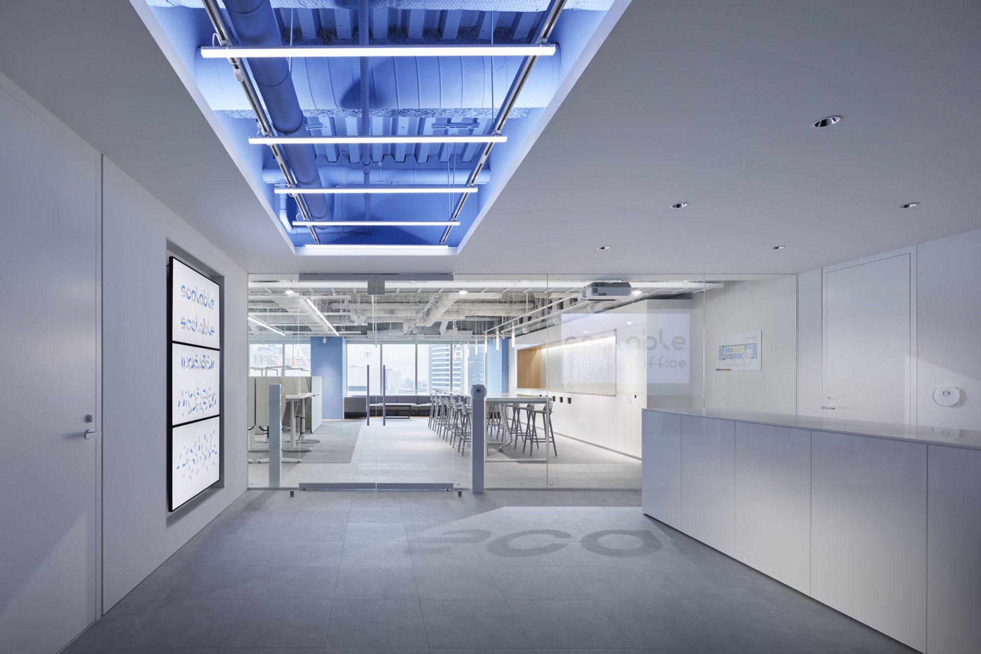 スケーラブルオフィスにテナントワーカー様向け体験コーナーを設置1